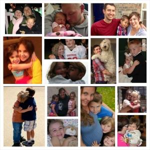 Hug collage #2