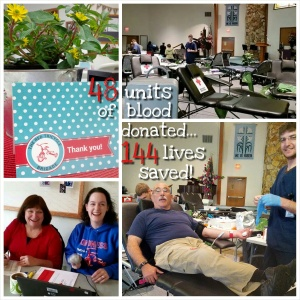 Blood Drive collage