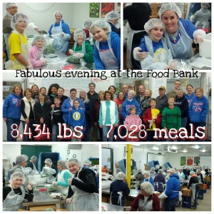 Food Bank collage