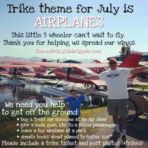 Airplane trike theme