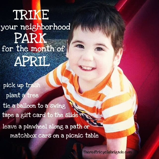 Park Trike Theme for April