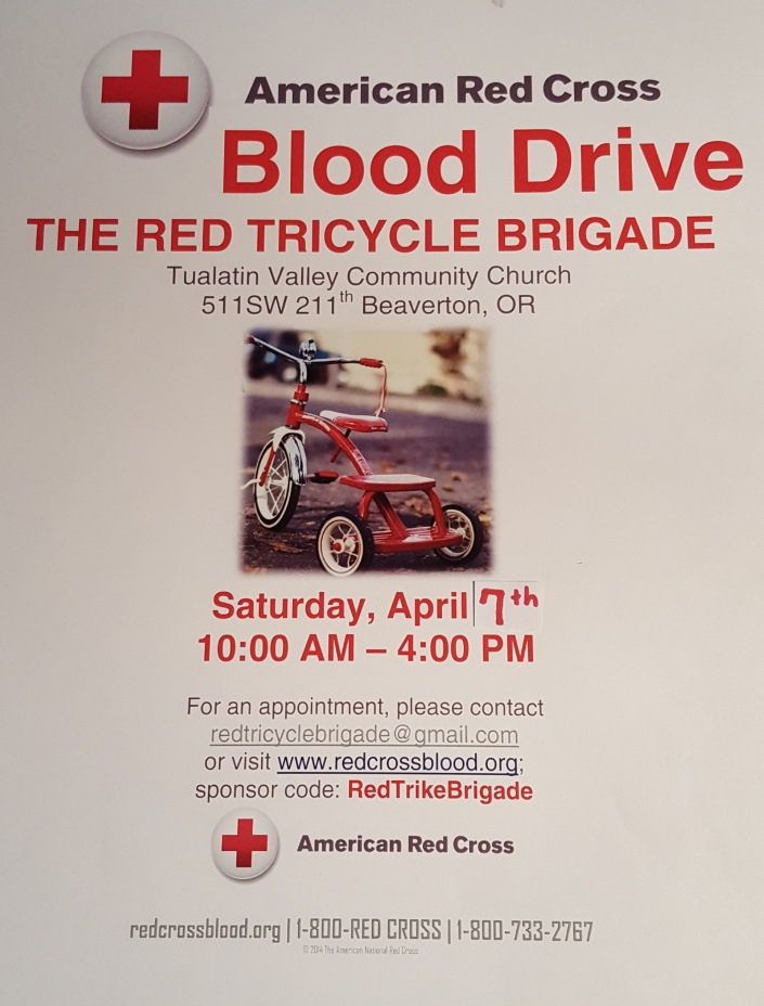 Blood Drive Poster 2018